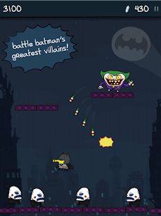 Doodle Jump DC Super Heroes- screenshot