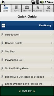The R&A Rules of Golf - screenshot thumbnail