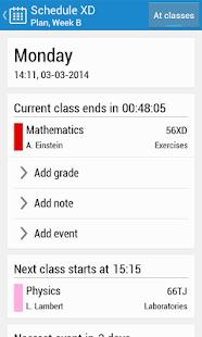 Schedule XD - screenshot thumbnail