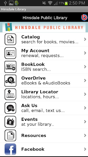 Hinsdale Public Library Mobile
