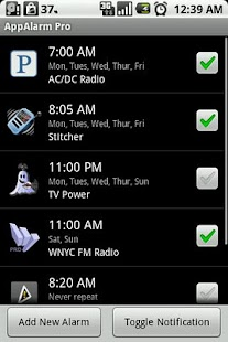 AppAlarm Pro - screenshot thumbnail