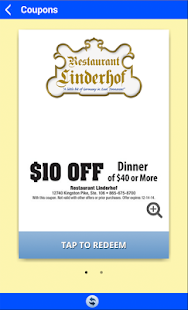 Restaurant Linderhof- screenshot thumbnail