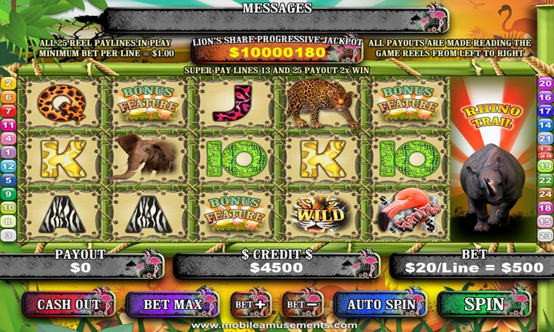 Flamingo Safari Slots PREMIUM - screenshot