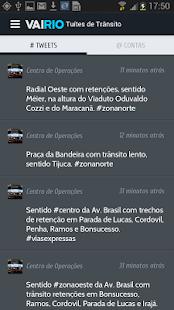 Trânsito Rio - VaiRio O Globo - screenshot thumbnail