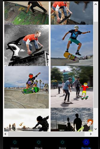 Skateboard Extreme Skaters