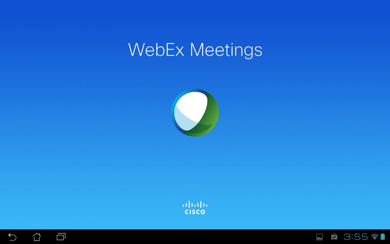 Cisco WebEx Meetings - screenshot
