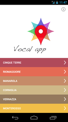 5 TERRE - VOCAL APP