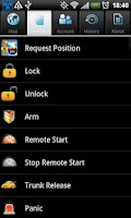 Screenshot of Portman M2M System