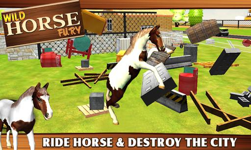 ワイルドホースフューリー - 3Dゲーム