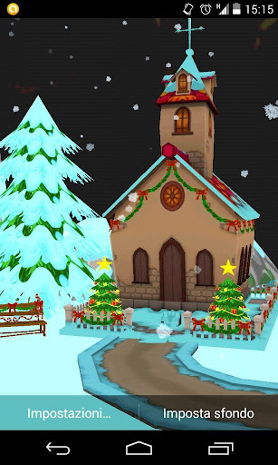 Merry Christmas Snow 3d FREE