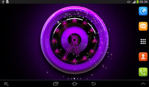 时钟霓虹灯|玩個人化App免費|玩APPs