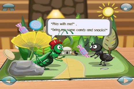 Ant&Grasshopper:3D Story Book - screenshot thumbnail