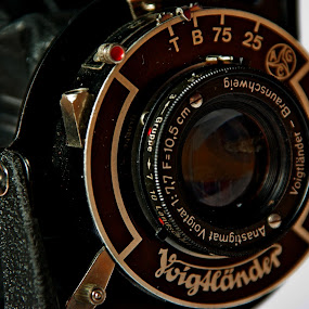 Voigtlander Bessa ... by Joseph Muller - Artistic Objects Technology Objects ( old, voigtlander bessa, collection ..., camera, photography, , lens, object )