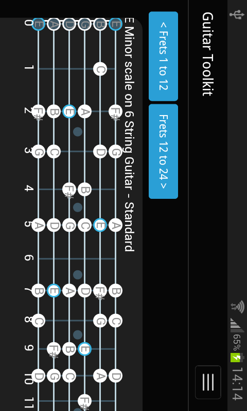 Guitar Toolkit- screenshot