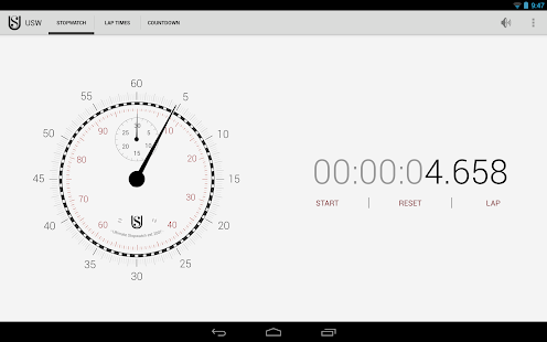Ultimate Stopwatch & Timer- screenshot thumbnail