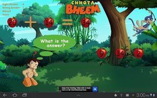 Screenshot of Quick Math with Bheem