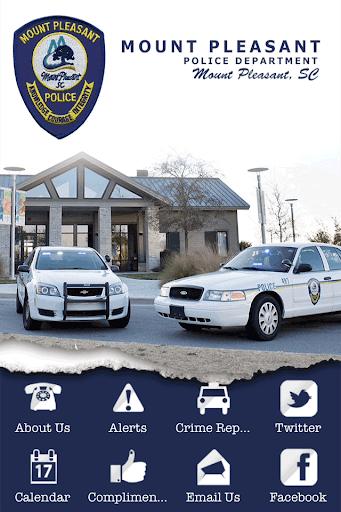 Mount Pleasant SC Police Dept.