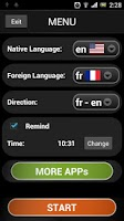 Screenshot of French lessons (free & fun)