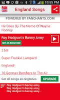 Screenshot of England World Cup Ringtones