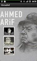 Screenshot of Ahmed Arif