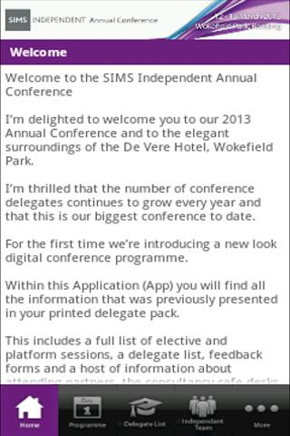 SIMS Independent 2013