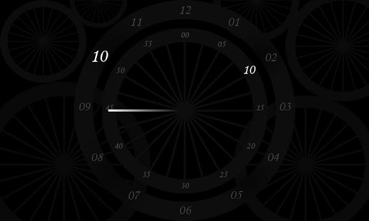 Chakra clock - screenshot thumbnail