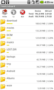 Bestandsverkenner File Manager - screenshot thumbnail