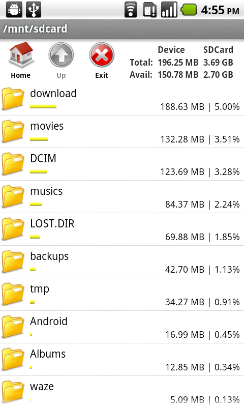 Bestandsverkenner File Manager - screenshot