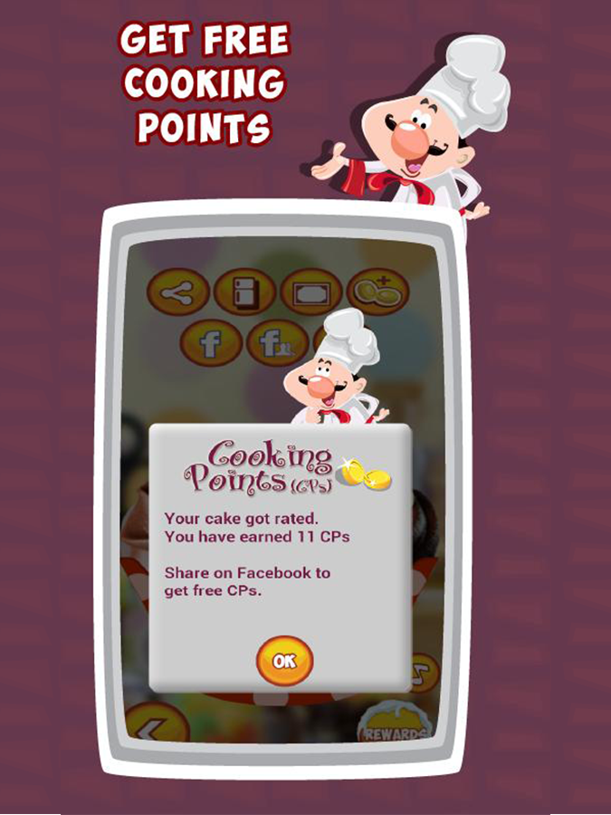 Cup Cake Mania - Cooking Game - screenshot