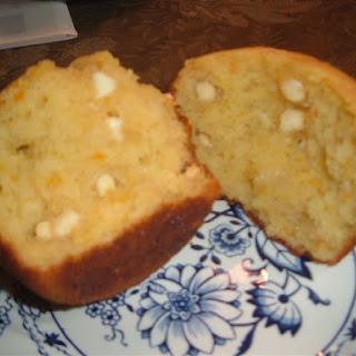 Orange White Chocolate Muffins