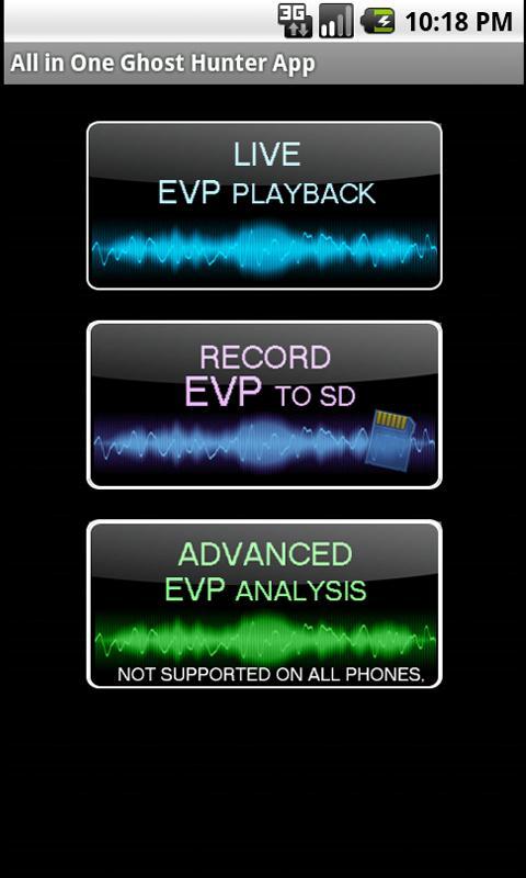 Ghost Hunter (EMF, EVP, SCAN)- screenshot