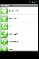 Screenshot of SMS Banking BRI Unofficial