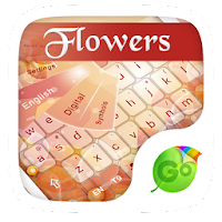 Flowers GO Keyboard Theme 1.65.18.57