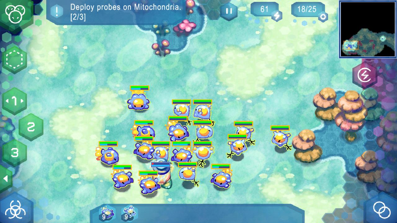 Amoebattle - screenshot