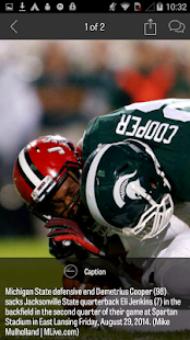 MLive.com: MSU Football News- screenshot thumbnail