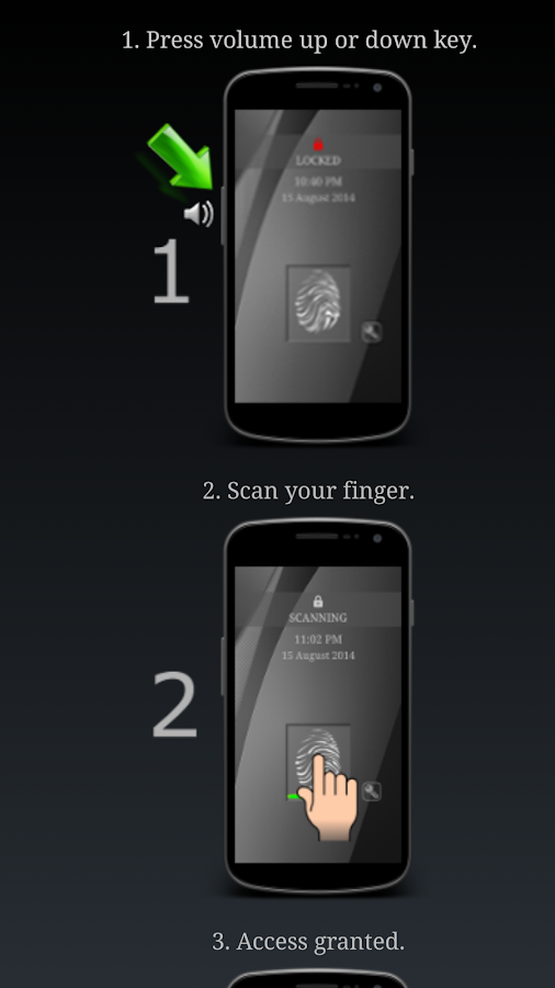 App Lock (Scanner Simulator)