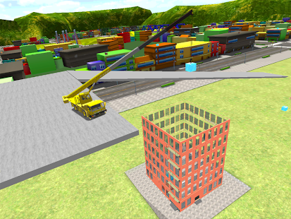 Crane Driving Simulator 3D - screenshot thumbnail