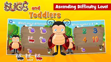 Screenshot of Toddler Games Age 2: Bugs