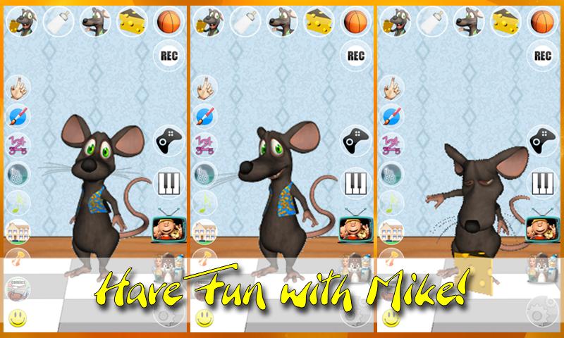 Talking Mike Mouse - screenshot
