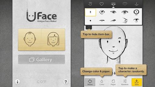 玩娛樂App|Uface面部素描免費|APP試玩