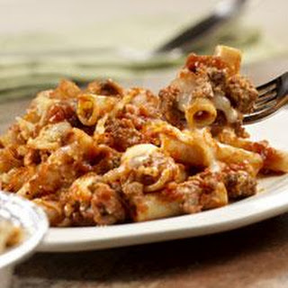 Prego® Now and Later Baked Ziti.