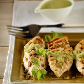 Grilled Chicken with Pumpkin-Seed Sauce