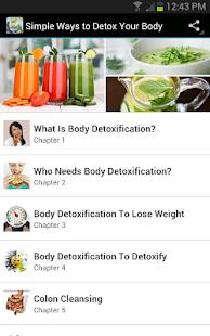 身體排毒時間表 (Body Detox Schedule) | 逍遙文工作室