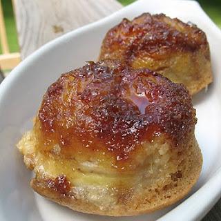Banana Upside Down Muffins.