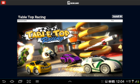 Racing Games Access For Tablet 1.0 screenshot 68225