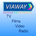 Viaway: TV Films Video Radio logo