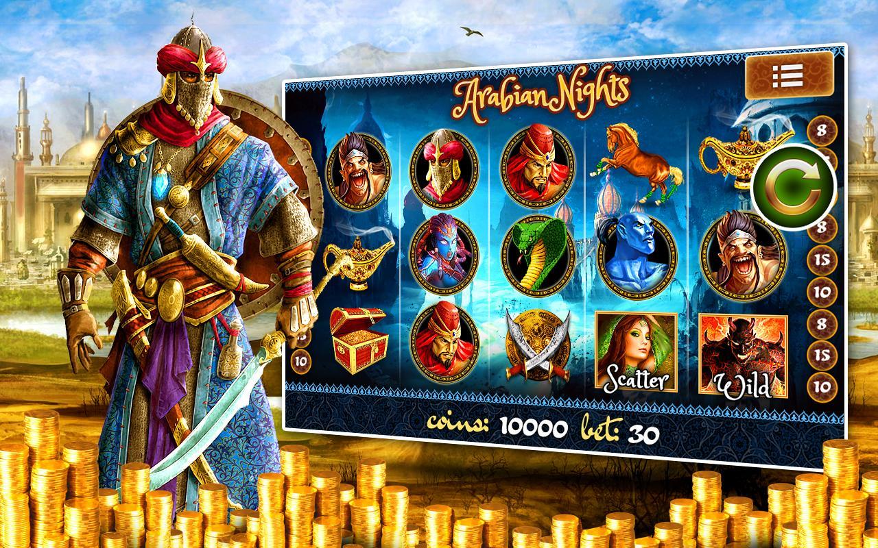 Arabian Nights Slots - Spela Arabian Nights Slots gratis