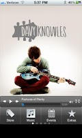 Screenshot of Davy Knowles