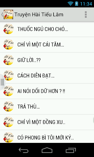 Truyen Tieu Lam Cuoi Vo Bung