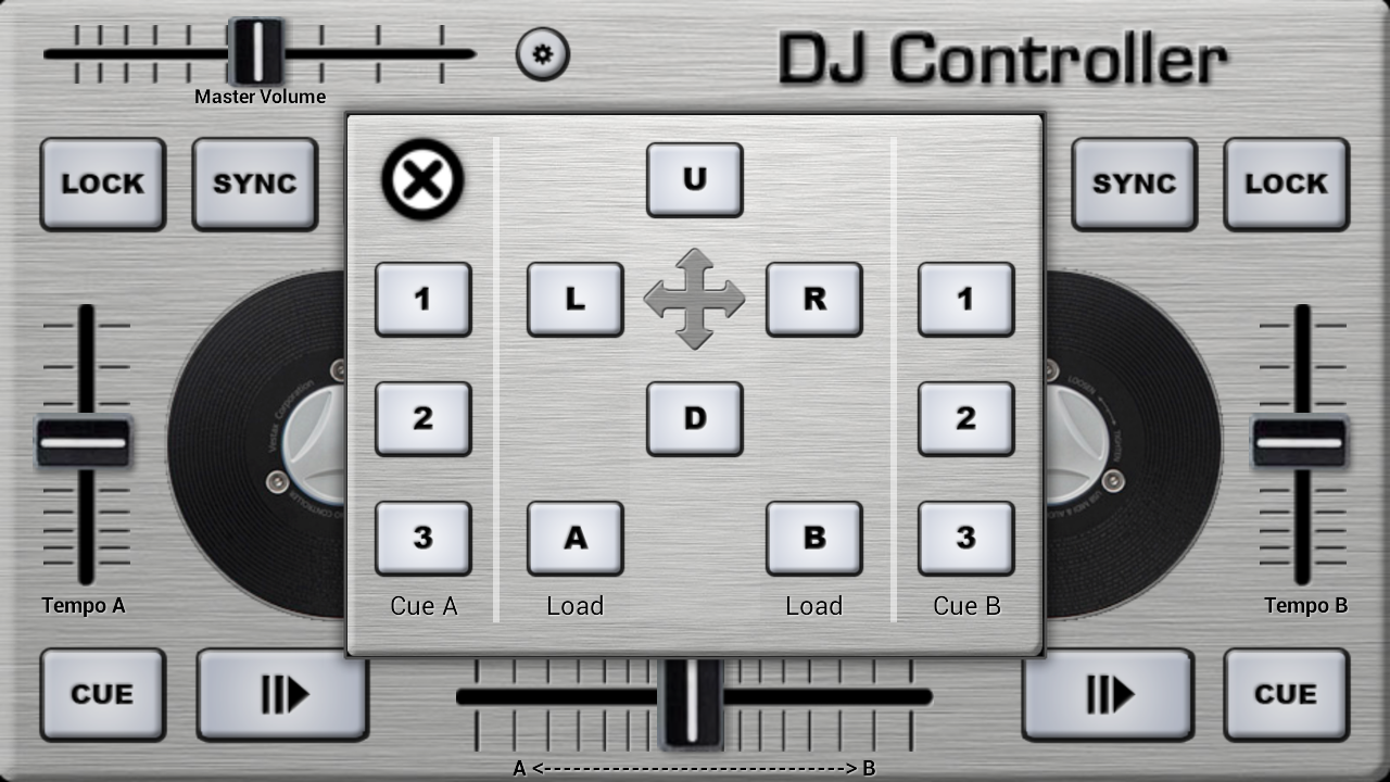 DJ Control- screenshot